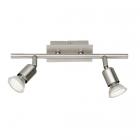 Спот на 2 LED-лампы Trio Reality Nimes R82942107 матовый никель