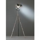 Торшер-прожектор Trio No.5 404200188 серебро антик