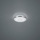 Потолочный LED-светильник Trio Osaka 678711206 хром/белый