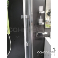 Душевая кабина Dusel A-515 120х80х190 профиль хром, стекло прозрачное