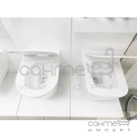 Безободковый подвесной унитаз Ponsi Rimless BCWAVLVASO0001 белый