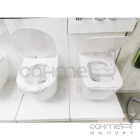 Безободковый подвесной унитаз Ponsi Rimless BCSURLVASO0001 белый