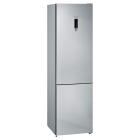 Отдельностоящий двухкамерный холодильник с нижней морозильной камерой Siemens KG39NXI326 нержавеющая сталь