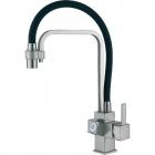 Смеситель для кухни комбинированный Fabiano FKMS 31.15 Inox 8231.403.0758 нержавеющая сталь