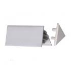 Заглушка для декоративной планки Ravak 10 мм XB430001001 белый