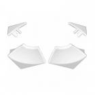 Набор заглушек для декоративной планки Ravak 6 B440000001 белый