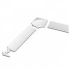 Декоративная планка Ravak 11/2000 XB462000001 белый