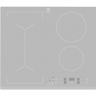 Индукционная варочная поверхность Electrolux SlimFit Bridge IPE6443SF серебристая