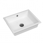 Раковина AquaSanita Neces BQC50-700 Ceramic withe белый