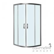Душевая кабина AM.PM Bliss Round 3/4 W56G-301-090MT профиль матовый хром, стекло прозрачное