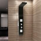 Гидромассажная панель Rea 9502 PVC черная