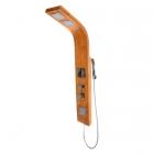 Гидромассажная панель Rea 9307 REA-P0525 бамбук/хром
