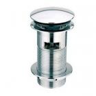 Донный клапан с переливом Rea REA-A1001 хром