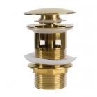 Донный клапан с переливом Rea REA-A9652 золото
