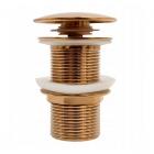 Донный клапан Rea REA-A9653 розовое золото
