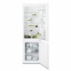 Встраиваемый двухкамерный холодильник с нижней морозильной камерой Electrolux ENN92841AW белый