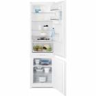 Встраиваемый двухкамерный холодильник с нижней морозильной камерой Electrolux ENN93153AW белый