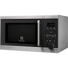 Настольная микроволновая печь с грилем Electrolux EMS20300OX нержавеющая сталь, серый