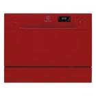Отдельностоящая посудомоечная машина на 6 комплектов посуды Electrolux ESF2400OH красный