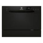Отдельностоящая посудомоечная машина на 6 комплектов посуды Electrolux ESF2400OK черный