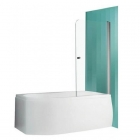 Шторка для ванны Vagnerplast Orien 80 VPVZ800ORN3S0X-H0 профиль хром, стекло прозрачное