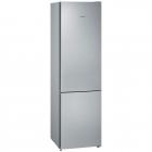 Отдельностоящий двухкамерный холодильник с нижней морозильной камерой Siemens KG39NVL316 нержавеющая сталь