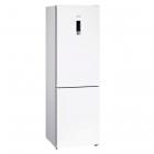 Отдельностоящий двухкамерный холодильник с нижней морозильной камерой Siemens KG39NXW326 белый