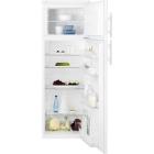 Отдельностоящий двухкамерный холодильник с верхней морозильной камерой Electrolux EJ2801AOW2 белый