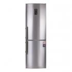 Отдельностоящий двухкамерный холодильник с нижней морозильной камерой Electrolux EN3452JOX серый