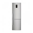 Отдельностоящий двухкамерный холодильник с нижней морозильной камерой Electrolux EN3854POX серый