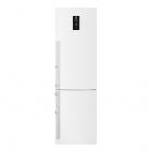 Отдельностоящий двухкамерный холодильник с нижней морозильной камерой Electrolux EN3889MFW белый