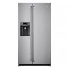 Отдельностоящий двухкамерный холодильник с боковой морозильной камерой Electrolux EAL6140WOU серый