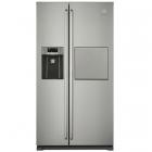 Отдельностоящий двухкамерный холодильник с боковой морозильной камерой Electrolux EAL6142BOX серый