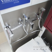 Гигиенический душ со смесителем Vito 1602-016CH  хром