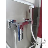 Гигиенический душ со смесителем Vito 1602-018CH  хром