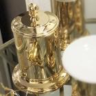 Баночка с крышкой Migliore Luxury Mirella ML.MRL-4810.DO золото