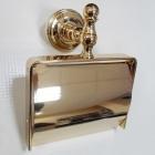 Держатель для туалетной бумаги с крышкой Migliore Luxury Mirella ML.MRL-M059.DO золото