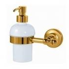 Дозатор подвесной Migliore Luxury Mirella ML.MRL-M068.DO золото/белая керамика