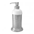 Дозатор настольный Migliore Luxury Mirella ML.MRL-4412.CR хром/белая керамика
