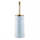 Ершик для унитаза напольный Migliore Luxury Mirella ML.MRL-M064.DO золото/белая керамика