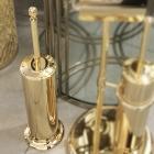 Ершик для унитаза напольный Migliore Luxury Mirella ML.MRL-M063.DO золото