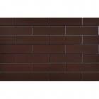 Фасадная плитка 245x65 CERRAD ELEWACJA Szkliwiona brąz 19874 (коричневая, застекленная)