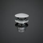Донный клапан Rak Ceramics Feeling Click-Clack DUO000500A белый матовый