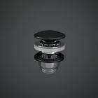 Донный клапан Rak Ceramics Feeling Click-Clack DUO000504A черный матовый