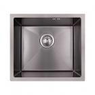 Кухонная мойка Imperial D4843BL PVD black Handmade 2.7/1.0 mm IMPD4843BLPVDH10 черная сталь сатин