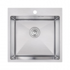 Кухонная мойка Imperial D5050 Handmade 2.7/1.0 mm IMPD5050H10 полированная нерж. сталь