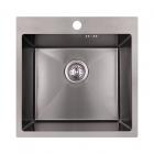 Кухонная мойка Imperial D5050BL PVD black Handmade 2.7/1.0 mm IMPD5050BLPVDH10 черная сталь