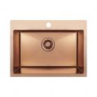 Кухонная мойка Imperial D5843BR PVD bronze Handmade 2.7/1.0 mm IMPD5843BRPVDH10 полированная бронза