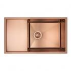 Кухонная мойка Imperial D7844BR PVD bronze Handmade 3.0/1.2 mm IMPD7844BRPVDH12 бронза сатин