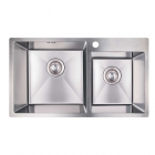 Кухонная мойка Imperial S7843 Handmade 2.7/1.0 mm IMPS7843H10 полированная нерж. сталь